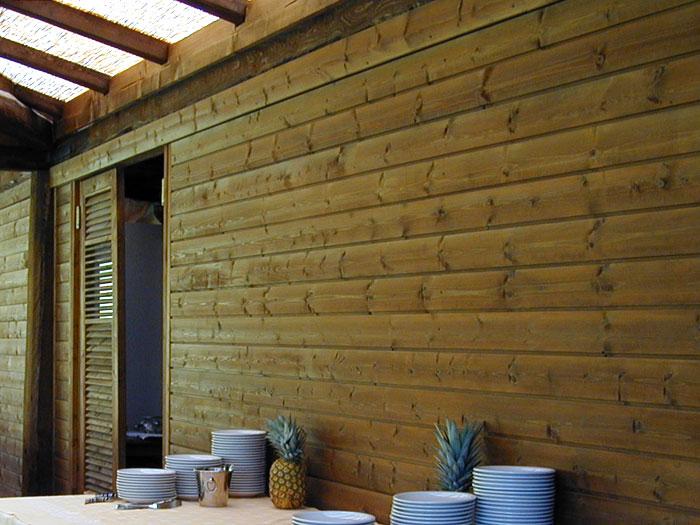 Super Parete divisoria in legno | Metal Tende HQ12